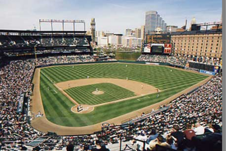 Camden Yards Baseball Stadium